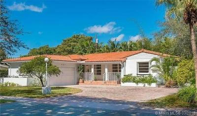Coral Gables Single Family Home For Sale: 931 Placetas Ave