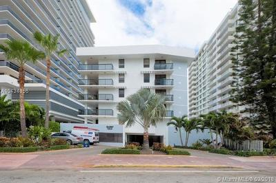 Miami Beach Condo For Sale: 5845 Collins Ave #303