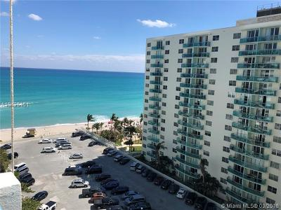 Hollywood Condo For Sale: 3725 S Ocean Dr #1218