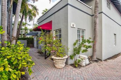 Miami Beach Single Family Home For Sale: 1231 15 Ter