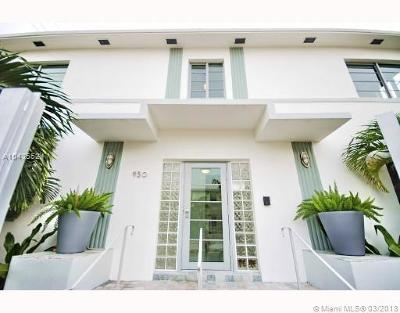 Miami Beach Condo For Sale: 930 10th St #7