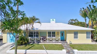 West Palm Beach Single Family Home For Sale: 6115 Lake Ave