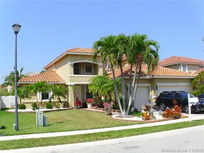 Pembroke Pines Single Family Home For Sale: 1510 SW 189th Ter