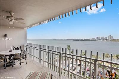 Miami Condo For Sale: 1 Grove Isle Dr #A704