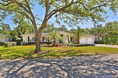 Coral Gables Single Family Home For Sale: 640 San Lorenzo Ave