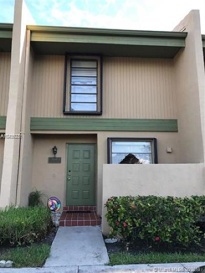 Pembroke Pines Condo For Sale: 9291 NW 14th Ct #253