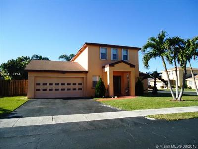 Sunrise Single Family Home For Sale: 9484 NW 52nd Mnr
