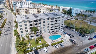 Hollywood Condo For Sale: 1901 S Ocean Dr #501