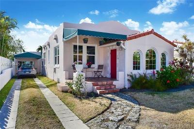 Surfside Single Family Home For Sale: 8836 Harding Ave