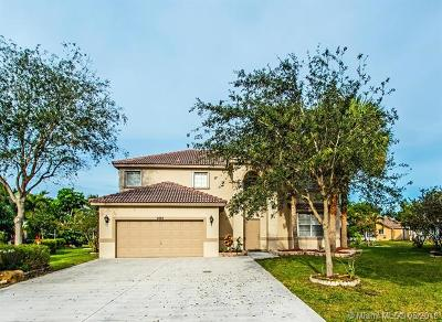 Coconut Creek Single Family Home For Sale: 4743 NW 75th Pl