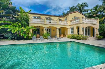 Miami Beach Single Family Home For Sale: 5641 Pine Tree Dr