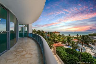 Miami Beach Condo For Sale: 5959 Collins Ave #702