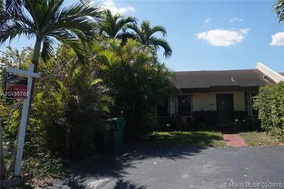 Miami Condo For Sale: 5416 SW 138th Ave #5416