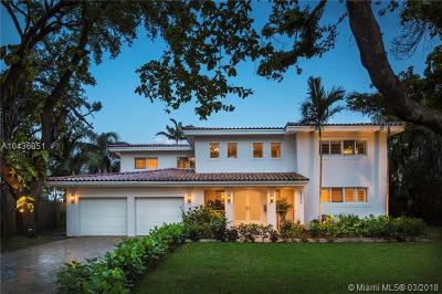 Coral Gables Single Family Home For Sale: 5255 Orduna Dr