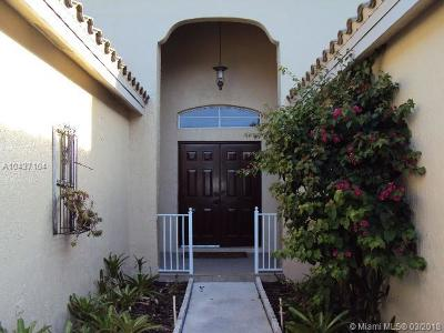 Weston Single Family Home For Sale: 1496 Meadows Blvd