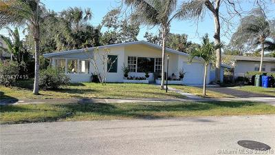 Fort Lauderdale Single Family Home For Sale: 3220 SW 23rd St