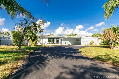 Oakland Park Single Family Home For Sale: 4341 NE 18th Ave