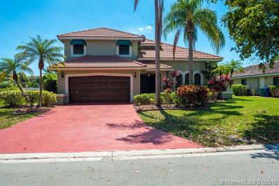 Coral Springs Single Family Home For Sale: 6100 NW 53rd St