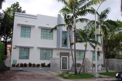 Miami Beach Condo For Sale: 526 15th St #3