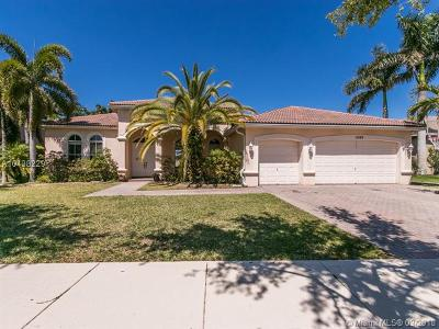 Cooper City Single Family Home For Sale: 11525 Hibbs Grove Dr