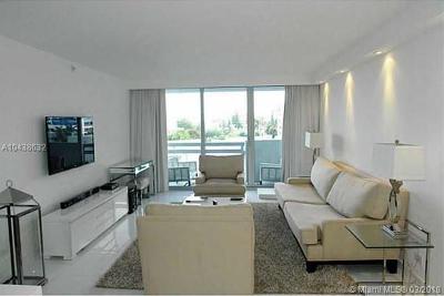 Miami Beach Condo For Sale: 1500 Bay Rd #480S