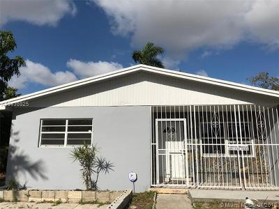Miami Gardens Single Family Home For Sale: 15820 NW 38th Ct