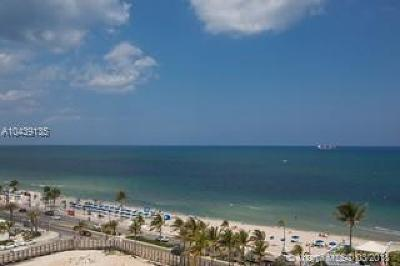 Fort Lauderdale Condo For Sale: 505 N Fort Lauderdale Beach Blvd #1012