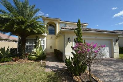 Coral Springs Single Family Home For Sale: 4817 NW 117th Ave