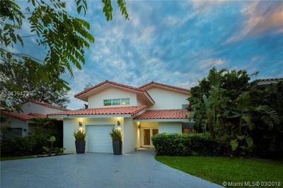 Coral Gables Single Family Home For Sale: 4012 Alhambra Cir