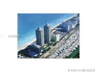 Miami Beach Condo For Sale: 4779 Collins Ave #1507