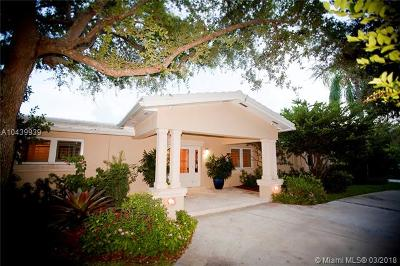 Pinecrest Single Family Home For Sale: 7160 SW 124 St