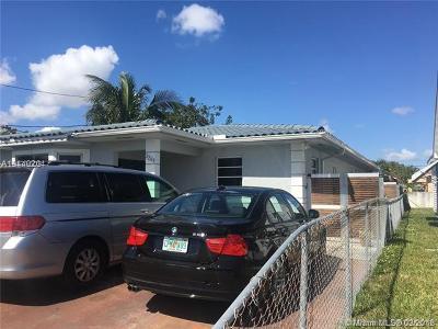 Miami FL Single Family Home For Sale: $380,000
