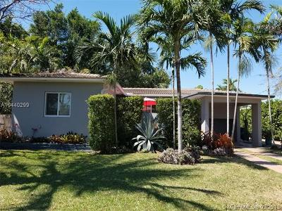 North Miami Single Family Home For Sale: 12660 Griffing Blvd