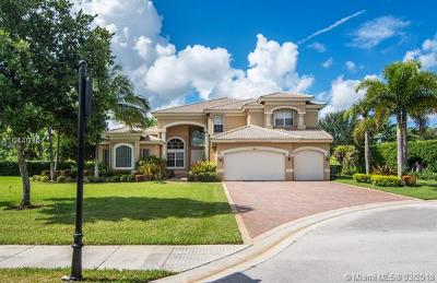 Davie Single Family Home For Sale: 11458 Water Oak Pl
