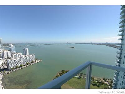 Miami Condo For Sale: 1900 N Bayshore Dr #3715