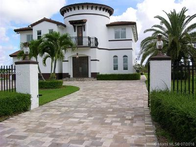 Single Family Home For Sale: 18551 SW 104th St