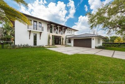 South Miami Single Family Home For Sale: 6130 SW 80th St