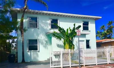 Miami Beach Multi Family Home For Sale: 931 79th Ter
