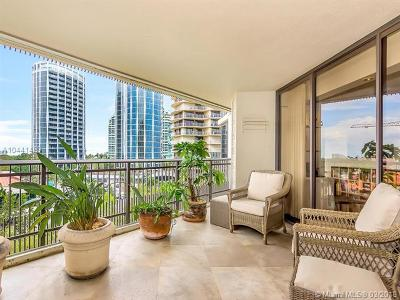 Coconut Grove Condo For Sale: 2901 S Bayshore #7G