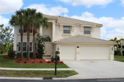 Royal Palm Beach Single Family Home For Sale: 2151 Bellcrest Cir