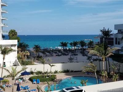 hollywood Condo For Sale: 4001 S Ocean Dr #4J