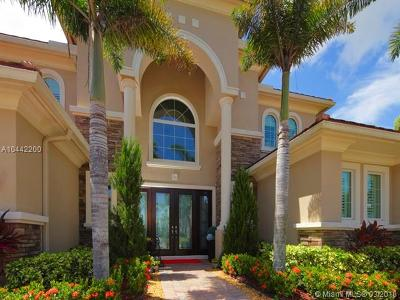 Royal Palm Beach Single Family Home For Sale: 8688 Wellington View Dr