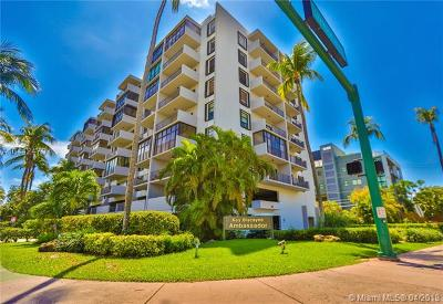 Key Biscayne Condo For Sale: 575 Crandon Blvd #401