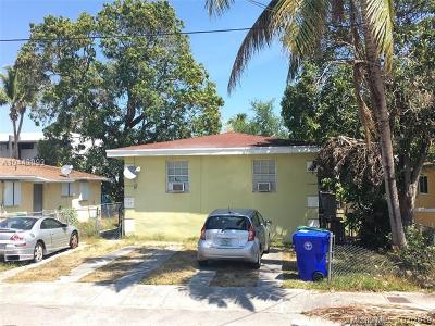 Miami Single Family Home For Sale: 3161 Hibiscus St
