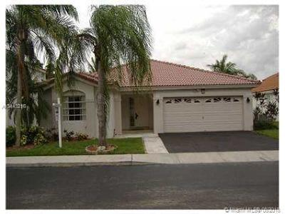 Sunrise Single Family Home For Sale: 13249 NW 12th Ct
