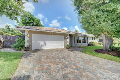 Palm Beach County Single Family Home For Sale: 525 NW 13th Ave