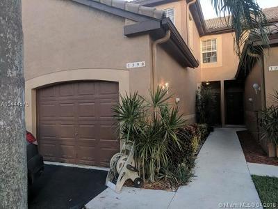 Weston Condo For Sale: 1398 Coronado Rd #2-39