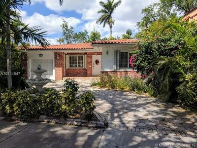 Coral Gables Single Family Home For Sale: 619 San Antonio Ave