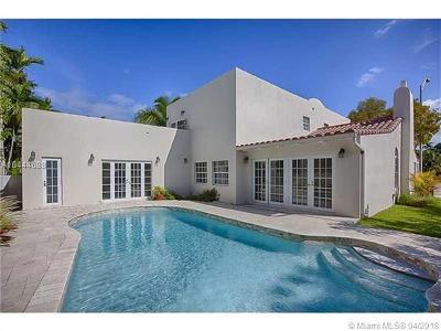 Miami Beach Single Family Home For Sale: 4628 Alton Rd