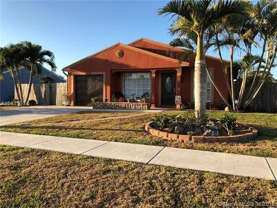 Royal Palm Beach Single Family Home For Sale: 10585 Aquarius Ln